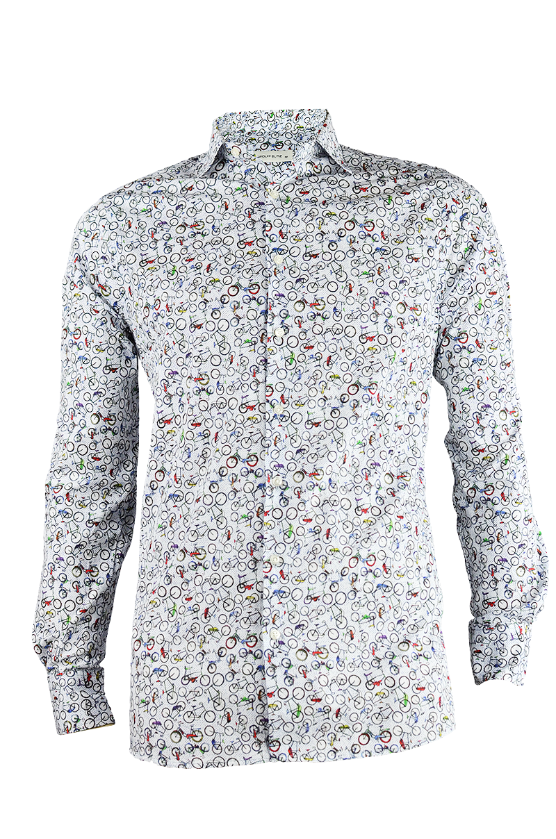Dutch Bicycles Print Shirt