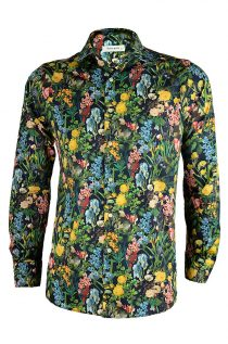 Birds in Paradise Print Shirt