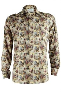 Rubens' Greek Legends Print Shirt