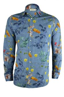 Floral Seasons Print Shirt