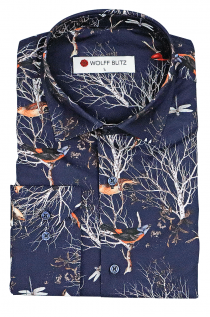 BIRDS IN WINTER SHIRT