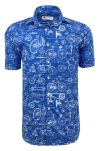 BLUE PRINT BICYCLE SHORT SLEEVE-front